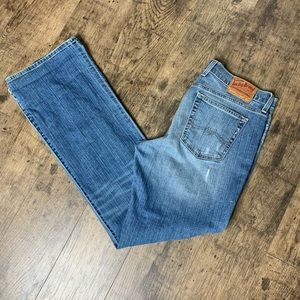 Lucky brand Sweet N Low tall bootcut jeans